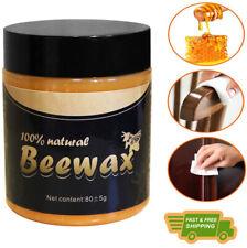 Wood Seasoning Beewax, Natural Traditional Beeswax Polish Wood Furniture Cleaner
