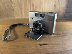 Optique près De Mint : Lecture Contax T Télémètre 35mm Caméra à Film De Japon #