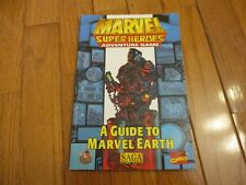 Marvel Super Heroes A Guide to Marvel Earth