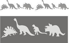 Wandschablone, Kinderschablone, Malerschablone, Schablone, Stencil - Dinosaurier