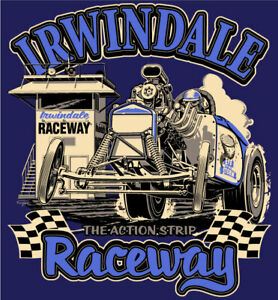 Irwindale Raceway Navy T-shirt