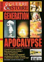 Guerre & Histoire HS n° 8 de 2003 Génération Apocalypse terreur bombe nucléaire