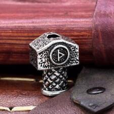 Thor Marteau De (Mjolnir) Thurisaz Rune Bead