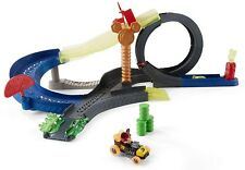 Fast Cars Race Track Mickey & The Roadster Racers Spinning Crashing Race Track