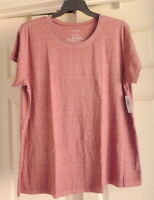 Torrid Premium Maroon Relaxed Fit Tee Size 3 (22-24) Short Sleeve NWT