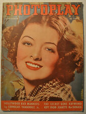 PHOTOPLAY MAGAZINE SEPTEMBER 1937 Vol. 51 No. 9 SHIRLEY TEMPLE MYRNA LOY