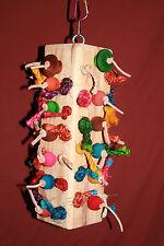 X-Large Wood and Sisal  Rope Toy JK110 Nikko & Rico's Safe Bird Toys