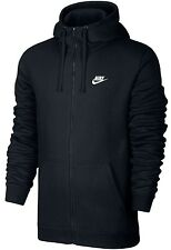 Nike Classic Winter Full Zip Fleece Hoodie Black Size XL NWT
