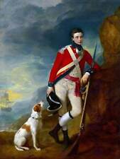 Dipinto ritratto Gainsborough Officer 4th REGGIMENTO piede poster stampa bb12710b