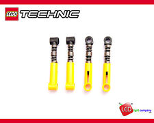 * NEW Lego Technic - Yellow Shock Absorbers Hard Suspension Springs - 6027566 x4
