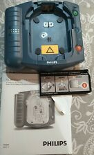 new open box Philips Heartstart HS1 ONSITE AED Defibrillator BATTERY Manuals