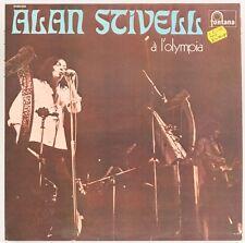 A L'Olympia   Alan Stivell Vinyl Record