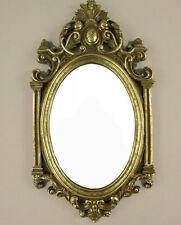 Wandspiegel Barock Badspiegel Flur Spiegel Antik Deko-Spiegel Gold Barockrahmen
