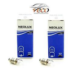 Neolux OSRAM 12 Volt 12v 4 WATT t4w n233 ba9s Targa Lampadine Scatola di 10