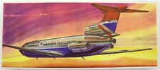 VEB Plasticart Trident British Airways Flugzeug-Modellbaukasten 1:100