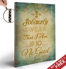 HARRY POTTER POSTER A4* I Solemnly Swear * Typographic Quote Art Great Gift Idea