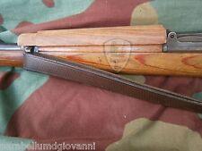 Copri canna fucile Mauser kar 98k, legno, calcio, gunmetal wood cover, restauro