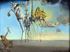 Salvador Dali Temptation of St. Anthony GICLEE 16.5X11.7 poster reproduction