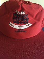 Buffalo Bills Silver Anniversary 2 hats-Great Christmas Gift