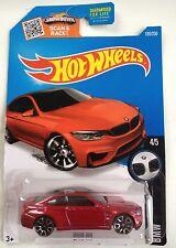 Hot Wheels BMW M4 - metallic red