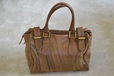 Paul Smith Large Darker Swirl Ladies Leather Zip Buckle Shoulder Handbag Womens