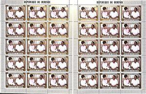 [OP2278] Burundi lot of 6x 3 sheets very fine MNH
