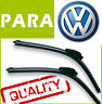 2 Escobillas Limpiaparabrisas Flexibles para VW Polo 9N 2001-2005