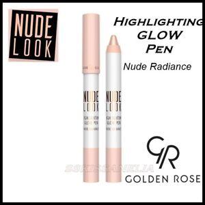 NEW  Nude Look Highlighting Glow Pen Illuminating Make up  Golden Rose