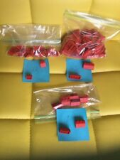 96 RED OFFICIAL LEGO ROOF PARTS PIECES TILES PEAKS 2 3 and 4 post SLOPE