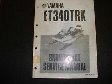 1997 yamaha vk540 ii iii snowmobile service manual