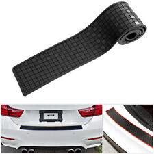 1Pc Car Rear Bumper Protector Trunk Sill Plate lattice Guard Scratch Guard Pad