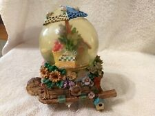 Sankyo Music Box Snow Globe