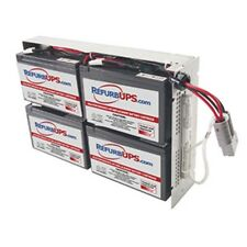 APC RBC23 Compatible Battery Kit with Battery Tray - Plug and Play Ready