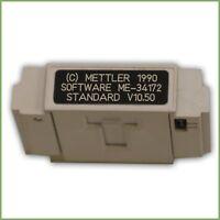 Mettler software me-34172 standard v10.50 1990 & warranty