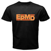 New EPMD Old School Rap Hip Hop Music Logo Men's Black T-Shirt Size S-3XL