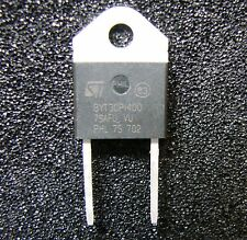 ST Micro BYT30PI-400RG 30A/400V Fast Recover Rectifier Diode,DOP3I-2, RoHS, 2pcs