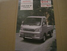 DAIHATSU HIJET TRUCK 660cc BROCHURE 2013 - JAPANESE