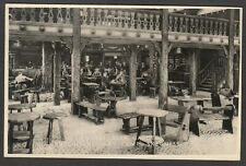 Postcard Butlins Holiday Camp Skegness the Viennese Beer Garden posted 1951 RP