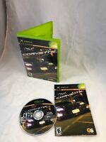 CORVETTE Xbox Complete CIB w/ Box, Manual Good