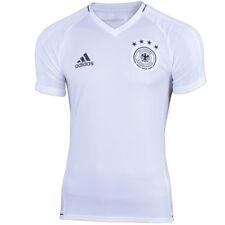 adidas Herren Fußball DFB Trikot Deutschland WM 4 Sterne Training Shirt weiß NEU