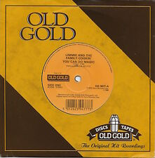 Limmie and the Family Cookin' - You Can Do Magic / Walkin - U.K. Old Gold 45rpm