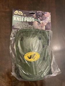 Alta Tactical Super flex Knee Pads, Green, New