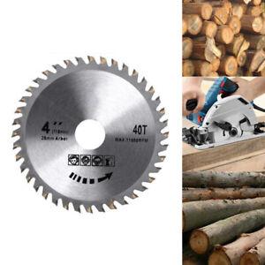 "110mm Circular Saw Blade Disc Wood Cutting 4"" 40 Teeth Fits for Angle Grinder"