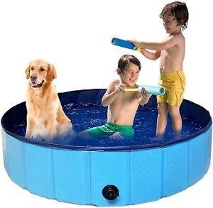 🔥 PAIGTEK Dog Pool / Ball Pool / Kiddie Pool / Sand Box 120CM Blue Compact 🚚✅