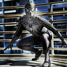 BLACK VENOM SPIDERMAN Cosplay Costume Spider-Man Zentai Tuta per Adulti & Bambini