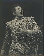 Ezio PINZA (Opera): Original Signed Halsman Photo as Don Giovanni