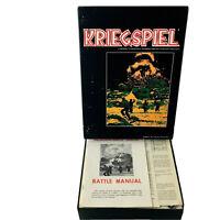 Kriegspiel Military Chess Wargame Avalon Hill 1970 Bookshelf Game Complete