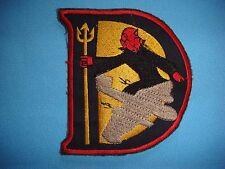 "VIETNAM WAR PATCH, US AIR FORCE ""D"" FLIGHT 13th BOMBARDMENT SQUADRON"