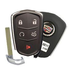 14-15 Cadillac Cts Xts Smart Keyless Remote Key Fob Entry Gm # 13580811 Oem (Fits: Cadillac)