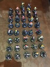 HEROCLIX INDY LOT 40 FIGURES HELLBOY PLUS 2 UNIQUES